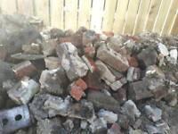 Bricks rubble
