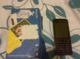 NOKIA 220 for sale with box and charger