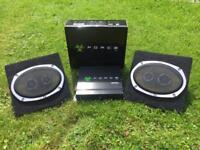 Combo sale 1000w force amp + 2x vibe 6x9 speakers
