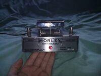 RARE VINTAGE Morley Power Wah Boost