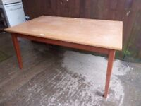 large Dining Table No Chairs Delivery Available