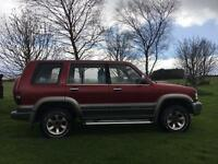 Isuzu Trooper 3.1 - P reg great condition