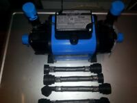 Wickes gravity feed shower pump.