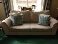 Ikea Marholma Three-Seater Sofa - Beige (Used, Pair Available)