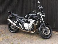 2007 Suzuki Gsf 650 Bandit, 7000 miles A2 restricted 12 month Mot