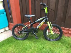 """Boys 16"""" bike like new can deliver for a small charge"""