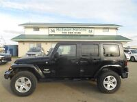 2007 Jeep Wrangler Unlimited Sahara Low KMS!!