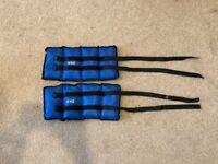 2x6kg Wrist Ankle Weights Bracelets