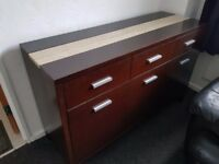 Italian made quality, solid sideboard