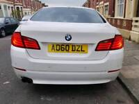 Bmw 520D 60 Plate 5 series in white New timing kit service history bargain PX