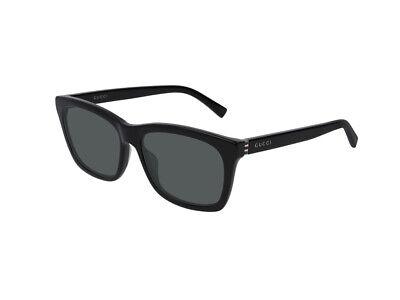 Sonnenbrille Gucci Original GG0449S schwarz grau polarisiert 002