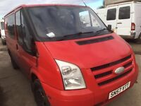Ford Transit 2007 year -Parts - bumper -bonnet -door - wing- whell