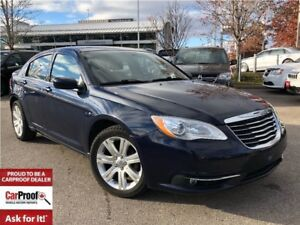 2013 Chrysler 200 TOURING**HEATED SEATS**POWER DRIVER SEAT**