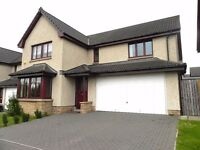 Stunning 5 bedroomed modern detached family house in Dalkeith