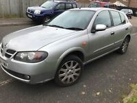 Nissan Almera 1.5 sve 2004 reliable cheap car still insured and taxed