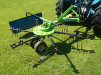 Star Single Rotor Rake and Tedder Model MGR 2500