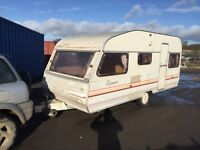 Avondale Pearl costom 1996 17 ft 5 berth cassette toilet oven hobs and grill 12/240v