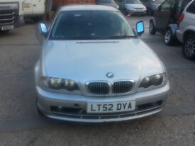 BMW 318CiAuto with Leather Seat