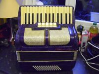 60 bass piano accordion needs tuning cheap to clear