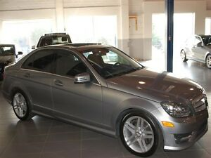 2012 Mercedes-Benz C300 4matic Sedan Metallic Paint, Dark Ash Wo