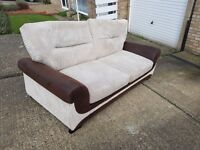 There seater, arm chair and love seat