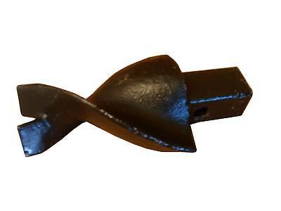 """Dirt Auger Fishtale Pilot Point 3-1/2"""" Wide 1-1/4"""" Sq (4pcs)"""