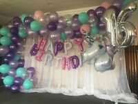 Special summer offers on Balloon areches and birthday party decorating services