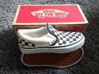 Brand New Kids Slip On Vans Size 11.5 BA2 Postcode Twerton