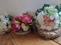 Floral Wedding Centre Pieces