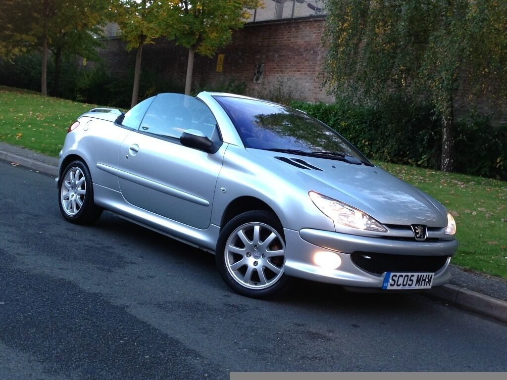 bargain 2005 peugeot 206 cc sport 1 6 manual petrol. Black Bedroom Furniture Sets. Home Design Ideas