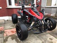 Quad road legal 250cc