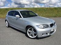 2011 BMW 118D M SPORT 5 DOOR HATCH FULL SERVICE HISTORY AND NEW MOT GREAT CAR!