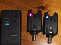 Wychwood Solace Bite Alarms with Wireless Receiver