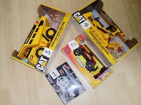 TOYS FOR BOYS AGED 3+TO 6+ IE TRUCKS,REMOTE WHEELS AND BUMPTRUCK BOLT&BUILT ALL BRAND NEW.