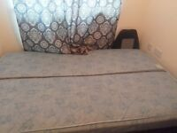 Double bed with under storage