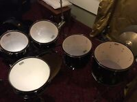 Tama Superstar Hyperdrive maple 6 piece Drum Kit - including hard cases