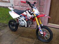 CW 140s pitbike