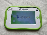LEXIBOOK TABLET JUNIOR 2 KIDDIES TABLET AGE 3 TO 4 YEARS.