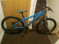 Voodoo Hoodoo mountain bike with fluid brakes