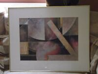 Professionally Framed Abstract Art Prints