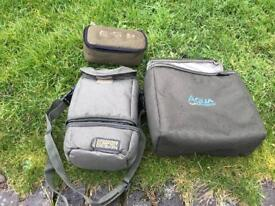 Carp fishing pouches price in advert
