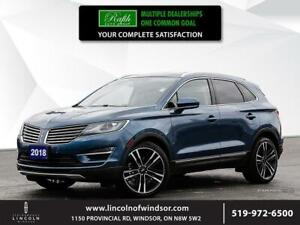 2018 Lincoln MKC **2.3L, PANORAMIC ROOF, AWD**