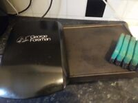 Grill & Griddle George Foreman electric portable [Good condition]