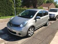 2008 Nissan Note, New MOT, Service History, Bluetooth Phone System, Drives Great