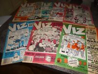 Early Edition VIZ Magazines