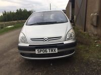 2006 CITROEN XSARA PICASSO 1.6 DIESEL// ONLY DONE 70K // GOOD CONDITION:/ CHEAPEST TO RUN