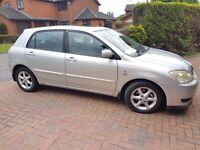 2004 TOYOTA COROLLA 2.0 DIESEL T SPIRIT 85K WITH 12 TOYOTA SERVICES TO 81K 12 M MOT V/G CONDITION