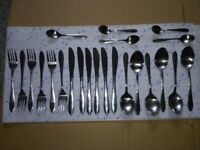 23 Piece Stainless Steel Cutlery