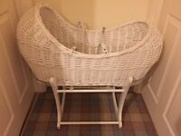 Mothercare Wicket Moses basket