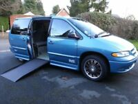 Dodge Grand Caravan (long wheel base) Sport . Option to Drive from Wheelchair